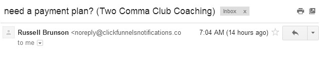 two comma club coachig review program