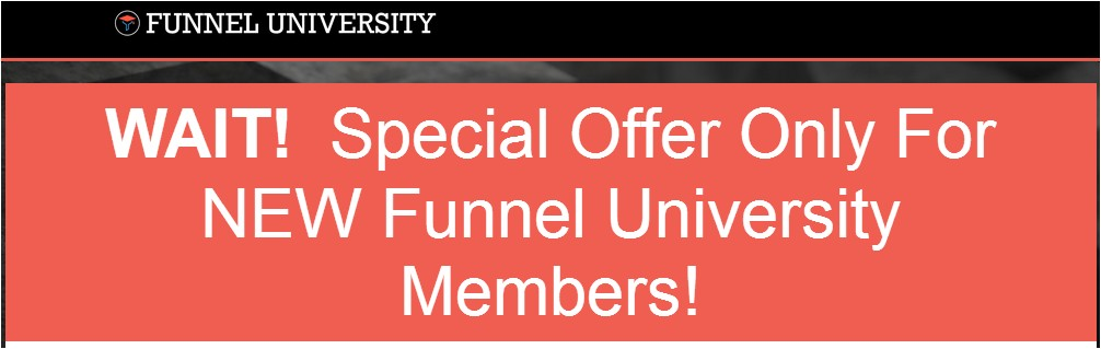 second offer funnel u with video