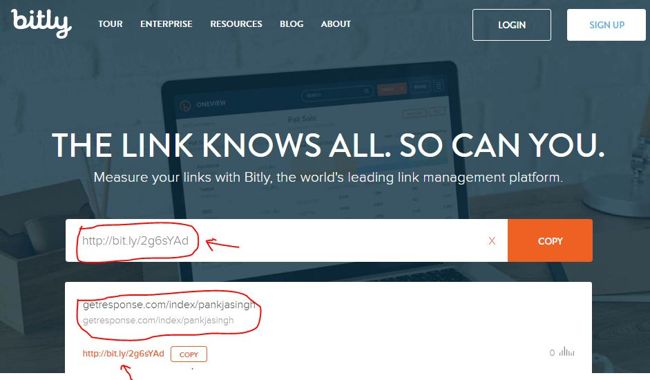 bitly small business tool