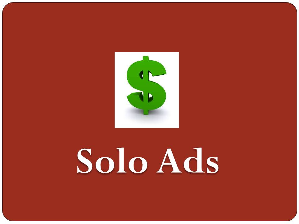 what is solo ads in affiliate marketing