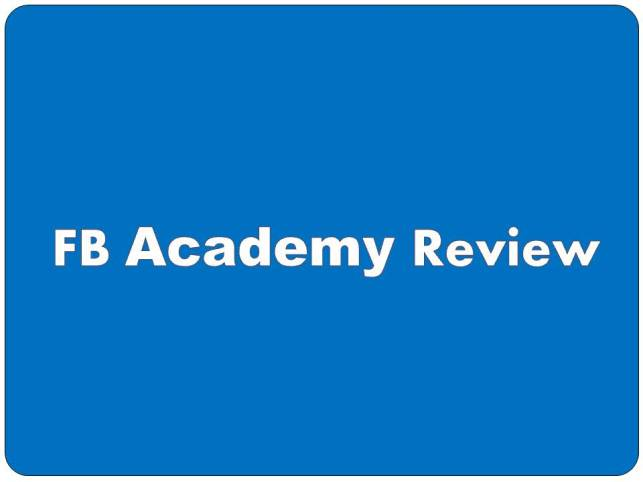 FB Academy Review