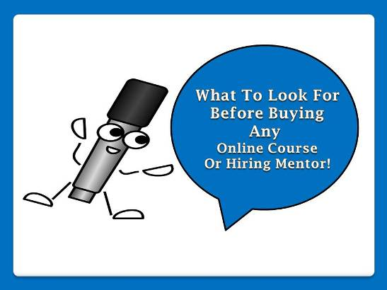 Want To Know What 80K Monthly Agency Owner Said On What To Look For Before Buying Any Online Course Or Hiring Mentor