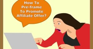 how to create a Preframe Video on optin Page for promoting your affiliate offer
