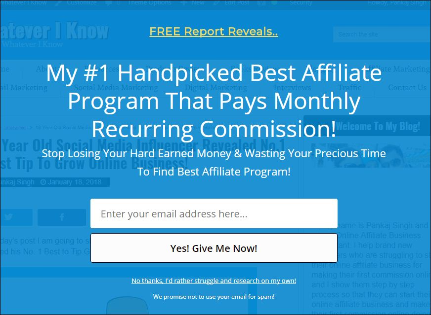 my latest (2018) 3 best email autoresponders for affiliate marketing