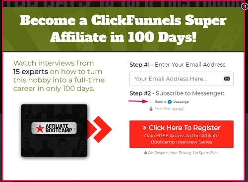 how to join clickfunnels affiliate bootcamp..