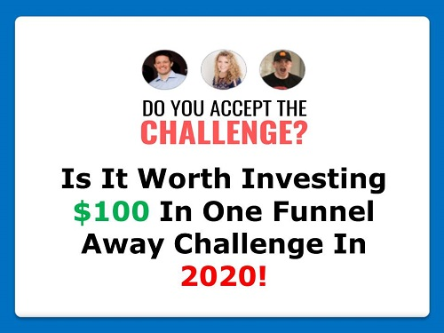 one funnel away challenge 2020 review