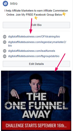 facebook profile lead