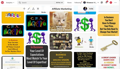 pinterest pin for affiliate marketing