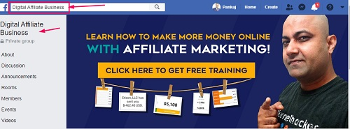 digital affiliate business group