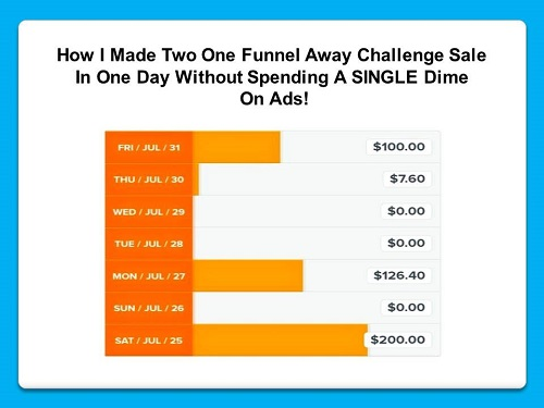 one funnel away challenge sale