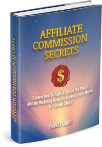 affiliate commission secrets book