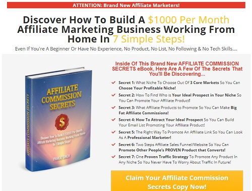funnel link affiliate commission secrets